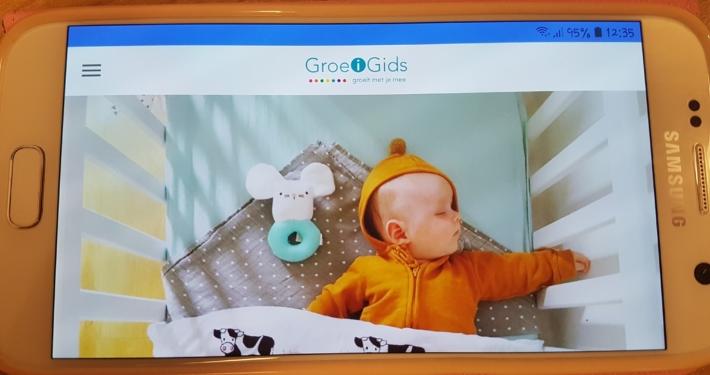 Link naar Download nu de gratis GroeiGids app in de store